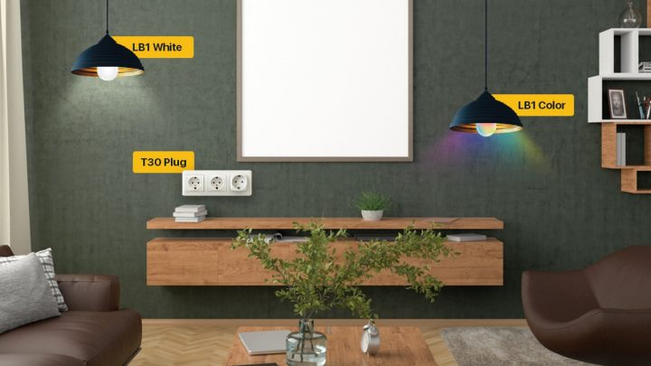 EZVIZ Luncurkan Lampu Pintar LB1 dan Smart Plug T30