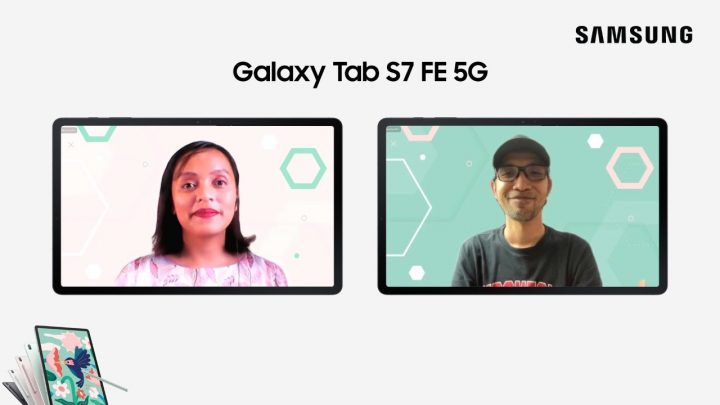 Fitur-fitur Samsung Galaxy Tab S7 FE 5G