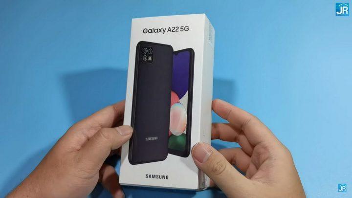Review Samsung Galaxy A22 5G