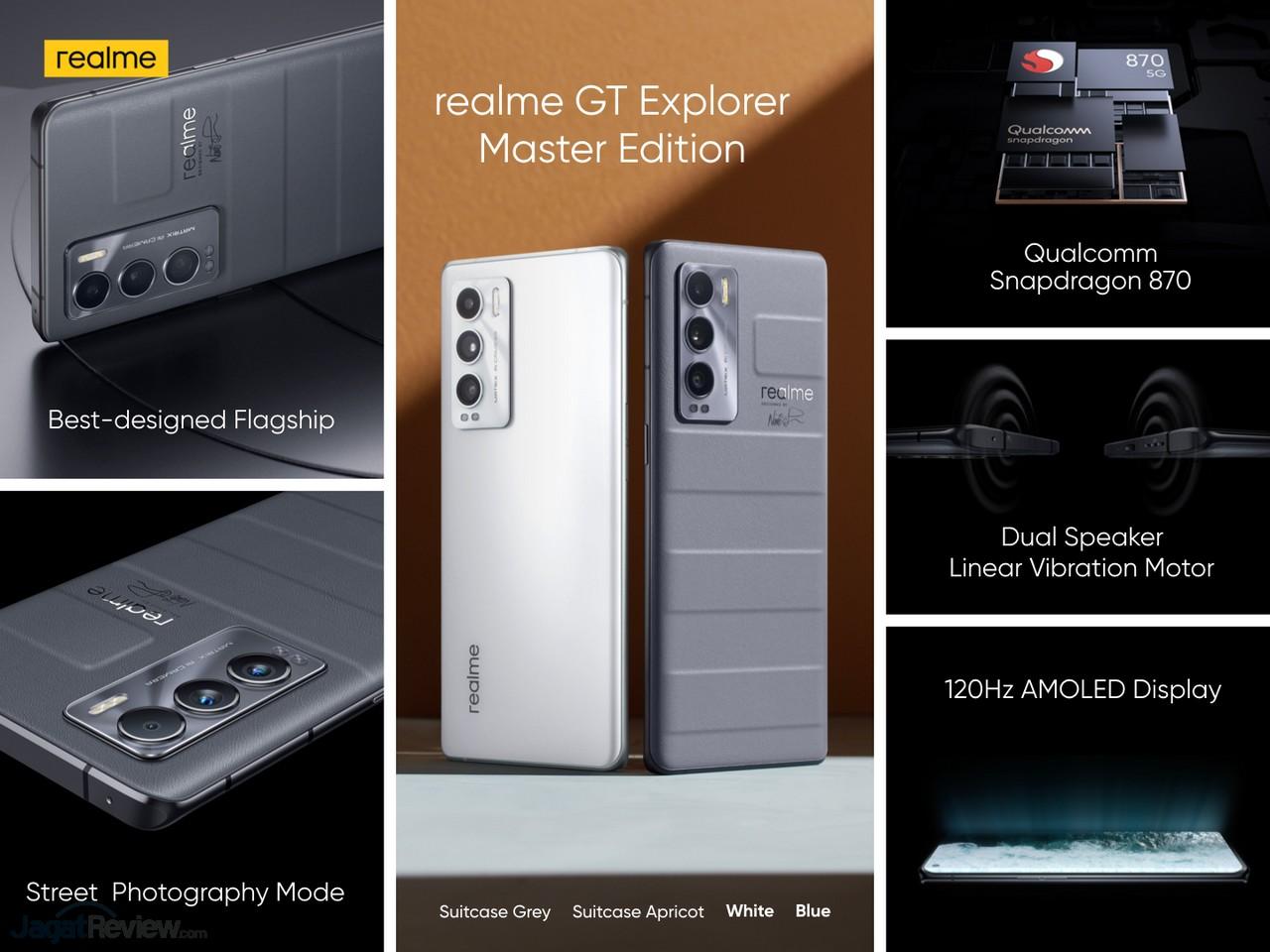 realme GT Master Edition harga dan Spesifikasi