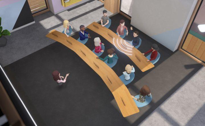 Facebook Metting Online VR Horizon Workroom (2)