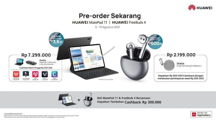 Harga Huawei MatePad 11