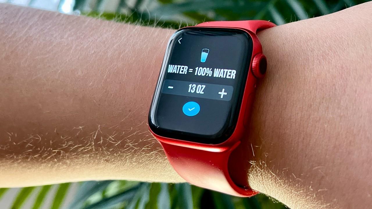 Apple Watch Fitur Pelacakan Hidrasi