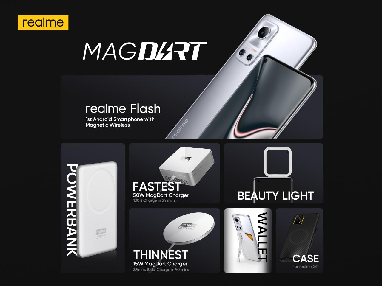 realme MagDart wireless Charging