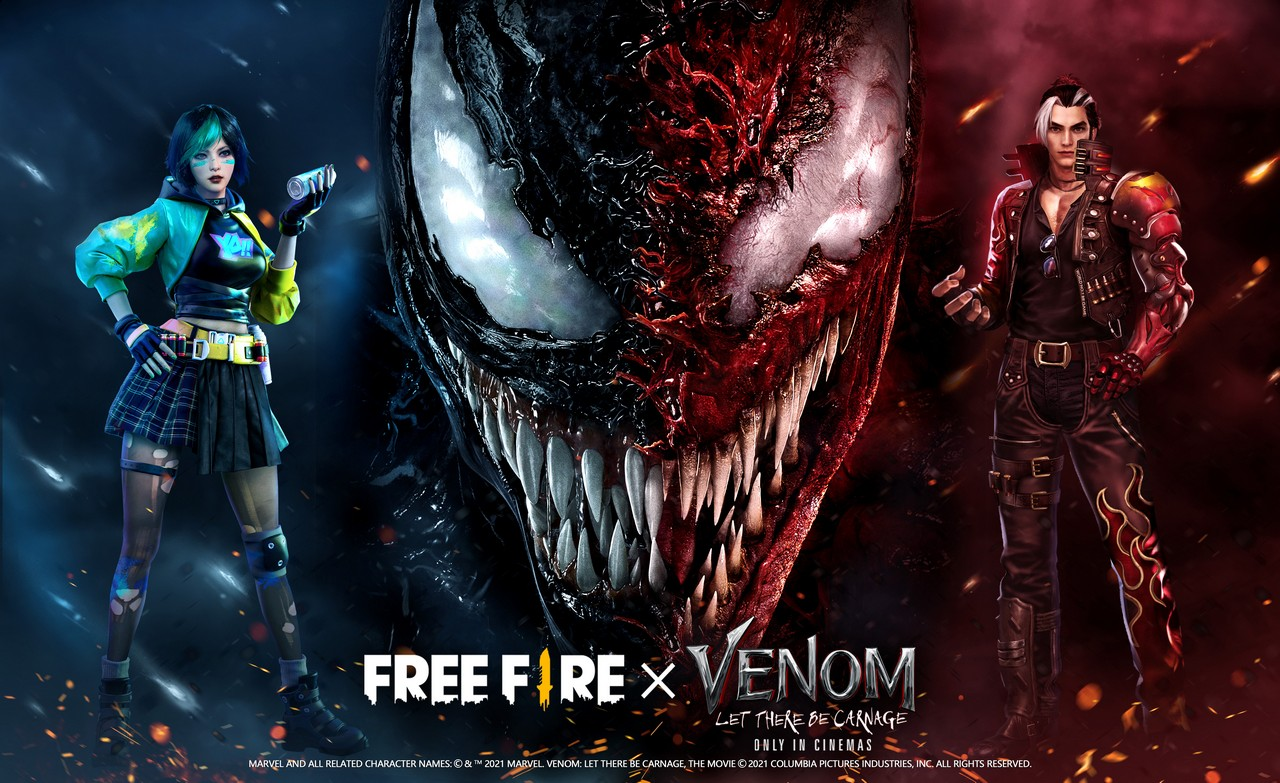 Garena Free Fire x Venom-Let There Be Carnage