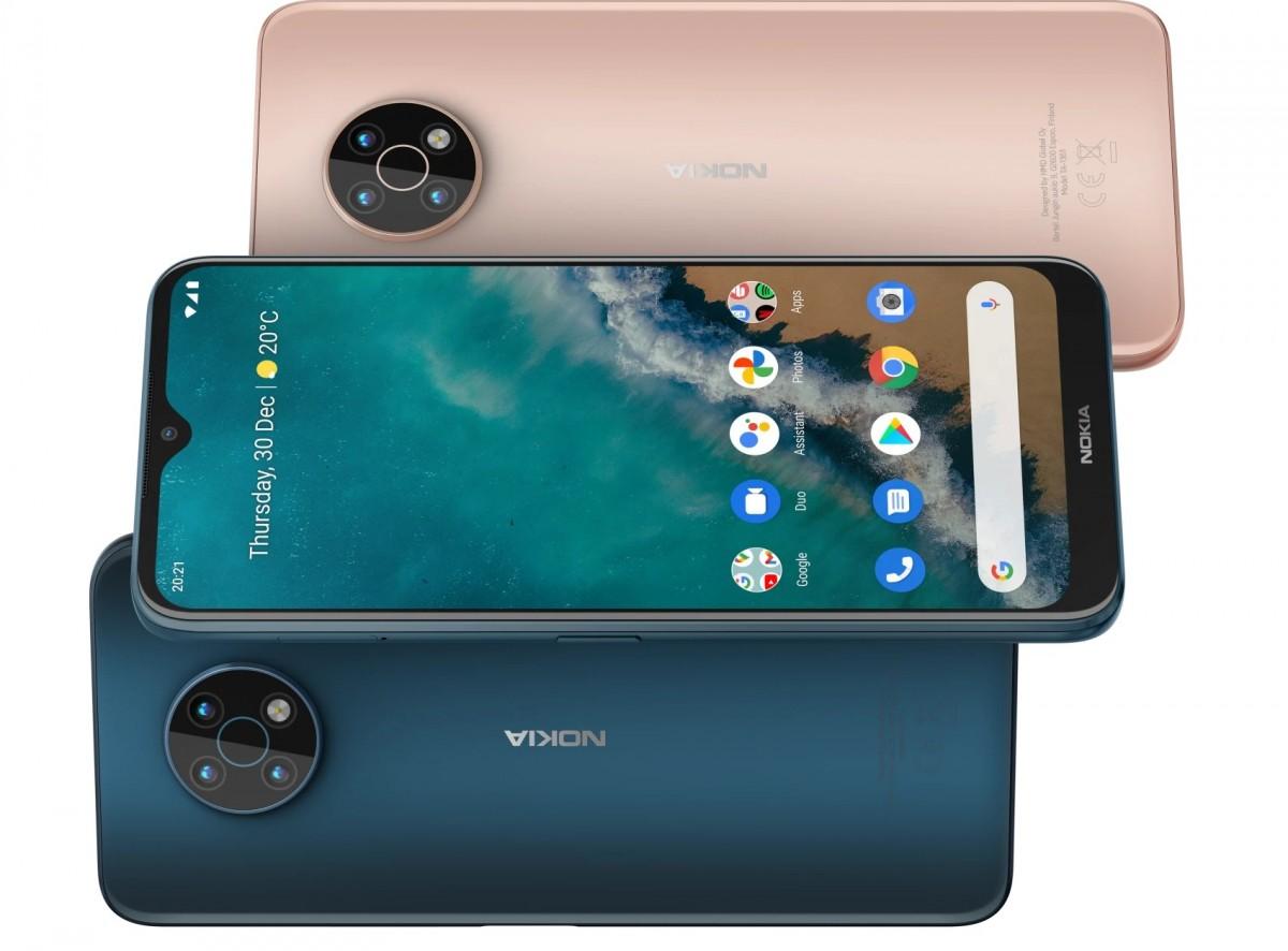 Nokia G50 color