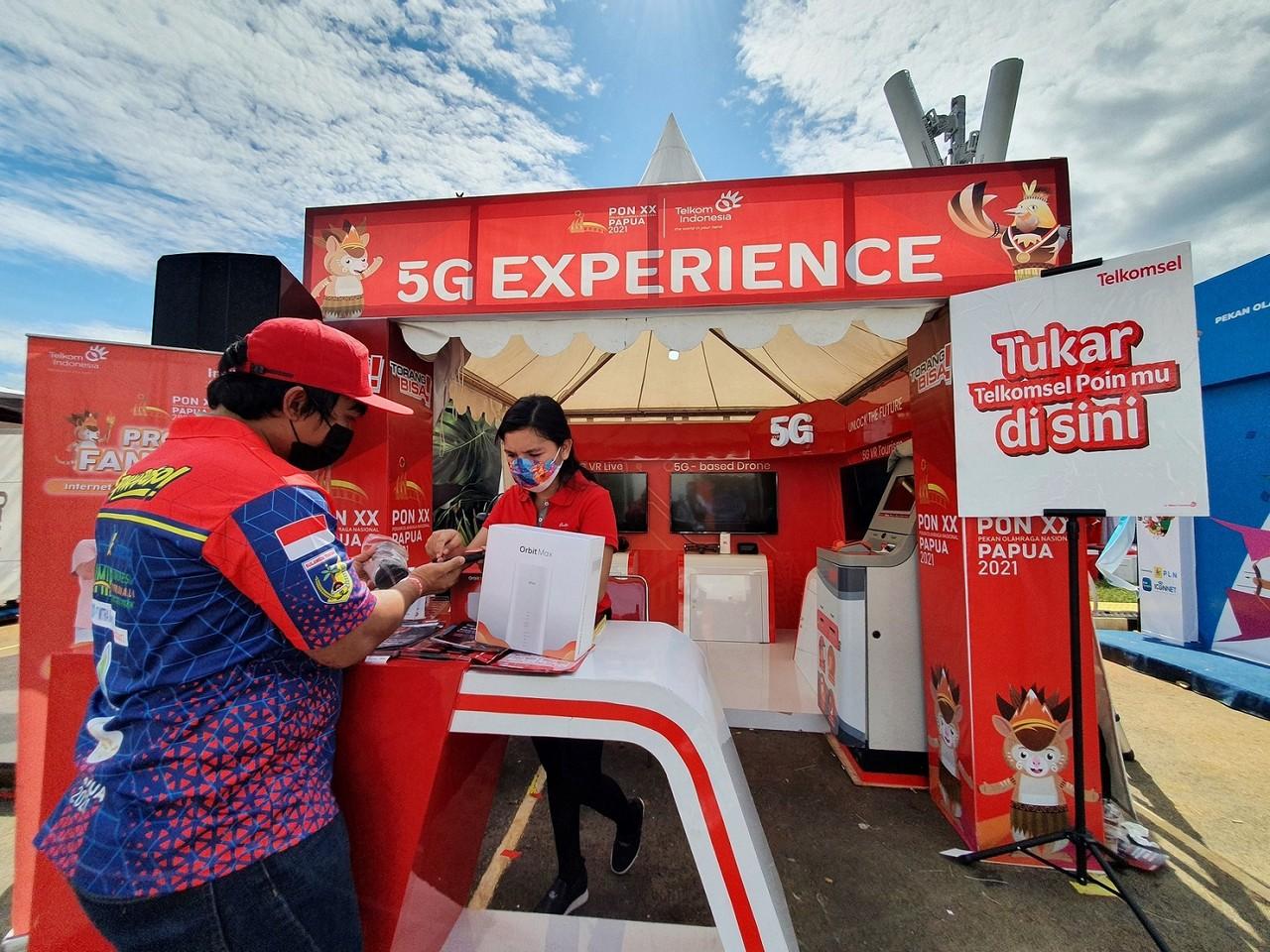 Telkomsel 5G Papua