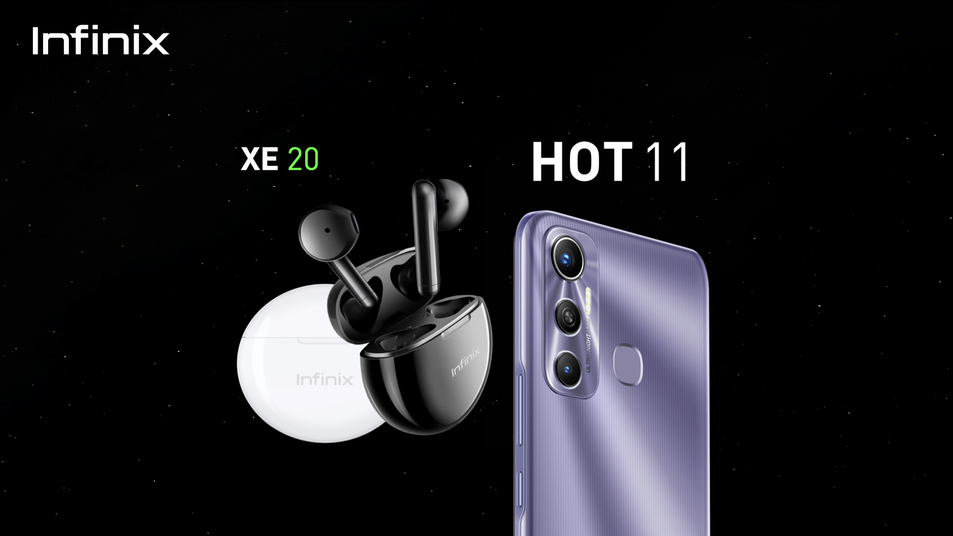 Infinix Hot 11 dan TWS XE20