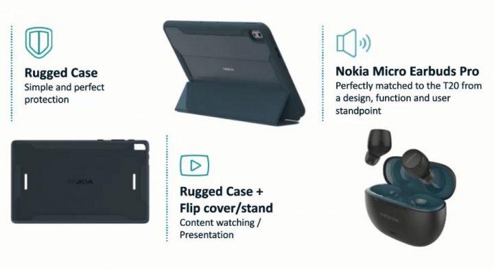 Nokia T20 Tablet Spesifikasi